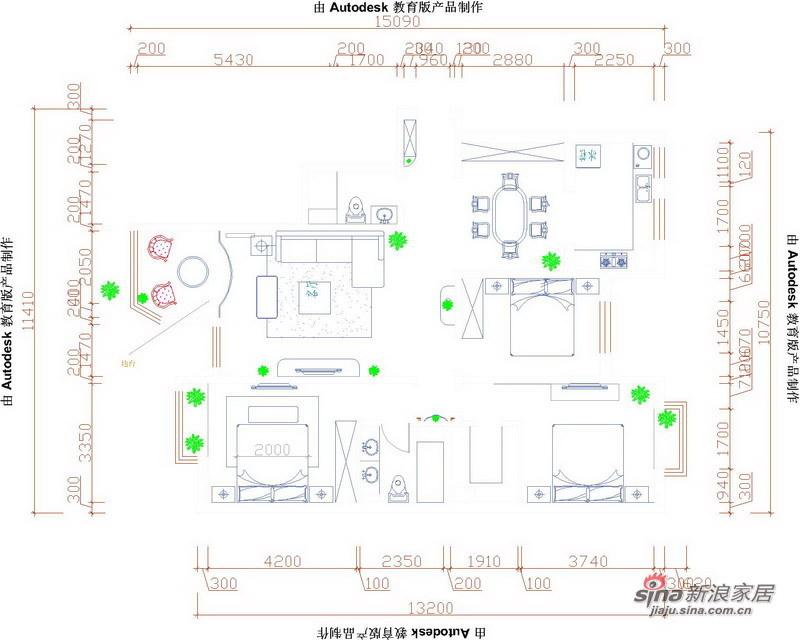欧式 三居 客厅图片来自用户2772856065在160平古典欧式三居13的分享