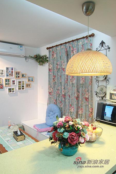 地中海 一居 餐厅图片来自用户2756243717在混搭女8万装64平地中海田园家75的分享