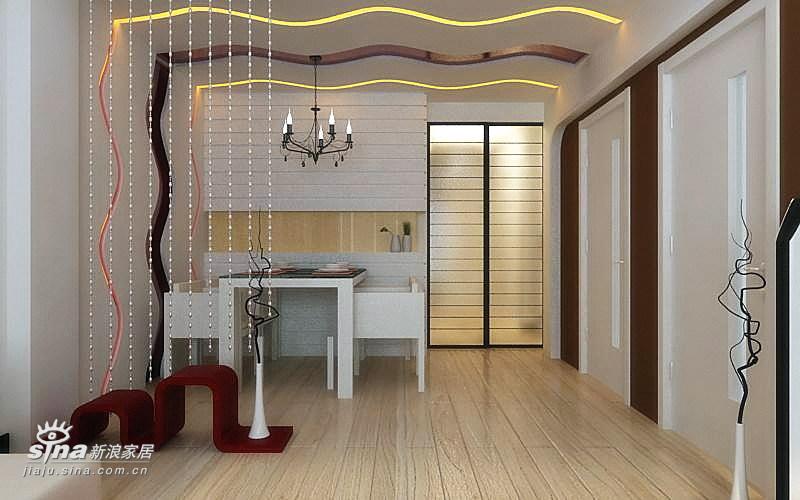 简约 二居 餐厅图片来自用户2739378857在纯真年代31的分享