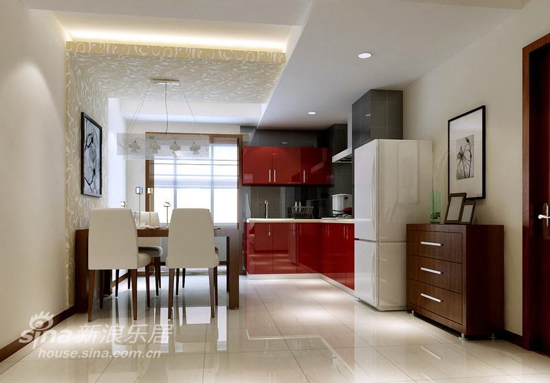简约 二居 餐厅图片来自用户2737735823在80㎡简洁大方温馨两居室49的分享