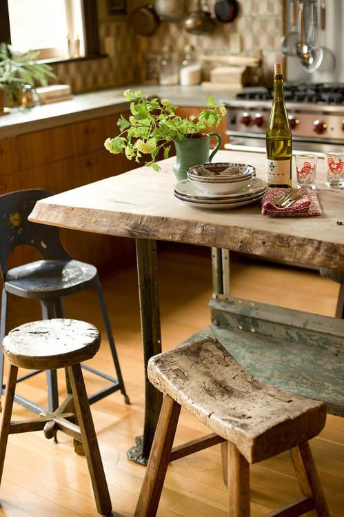 拥有这样的桌椅是我的梦想