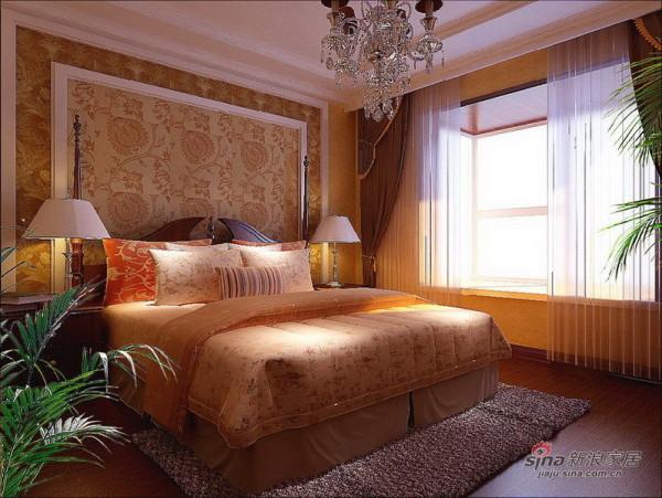欧式 三居 卧室图片来自用户2557013183在8万装出135平简约纯朴舒适欧式生活84的分享