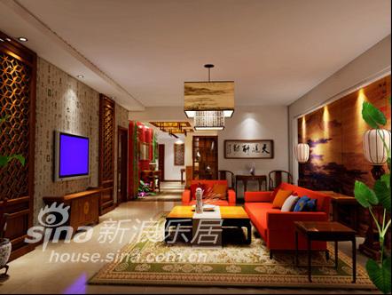中式 四居 客厅图片来自用户2757926655在沉醉东方92的分享