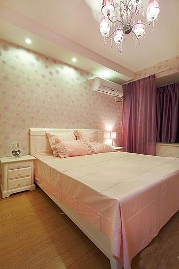简约 二居 卧室图片来自用户2558728947在5.6万装修95平米唯美家居33的分享