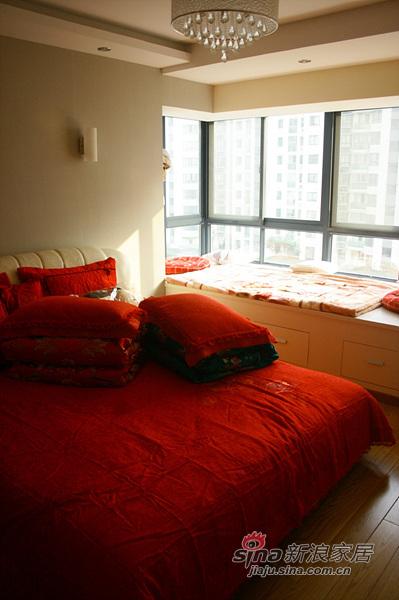简约 四居 卧室图片来自用户2737786973在新婚夫妻10万全包复式爱巢49的分享