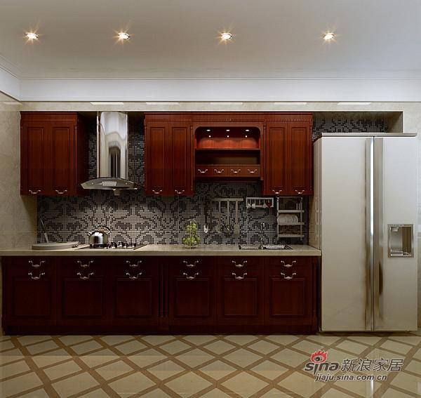 中式 三居 厨房图片来自用户1907662981在如何打造古典低调奢华的大三居?61的分享