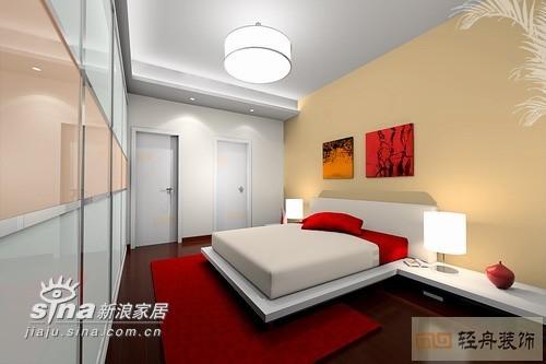 简约 三居 卧室图片来自用户2739081033在九重天花园179的分享