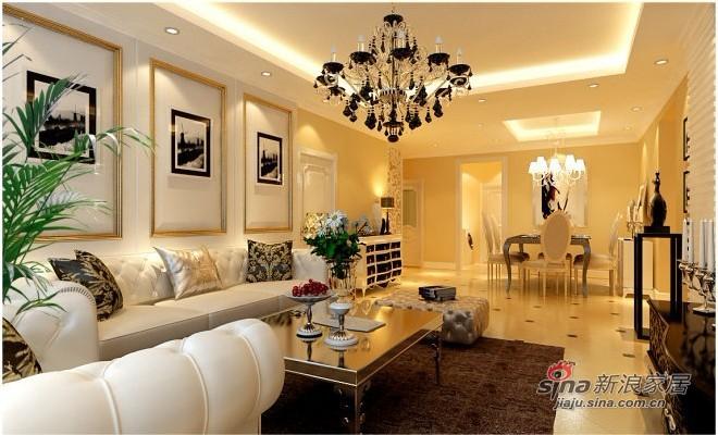 欧式 三居 客厅图片来自用户2557013183在9万打造135㎡华丽三室一厅60的分享