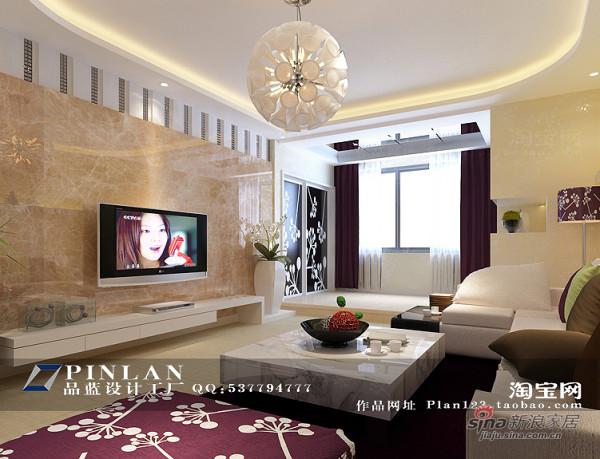 简约 四居 客厅图片来自用户2558728947在《迎新佳苑》--现代简约五房两厅170平米12的分享