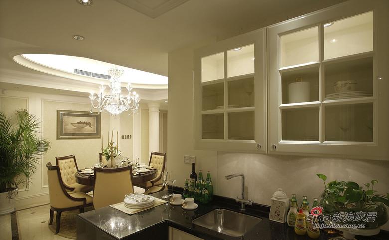 美式 三居 厨房图片来自佰辰生活装饰在9万打造120平时尚美式三口之家81的分享