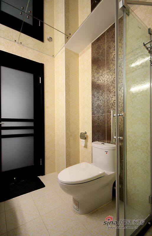 简约 三居 卫生间图片来自用户2737786973在黑白森林28的分享