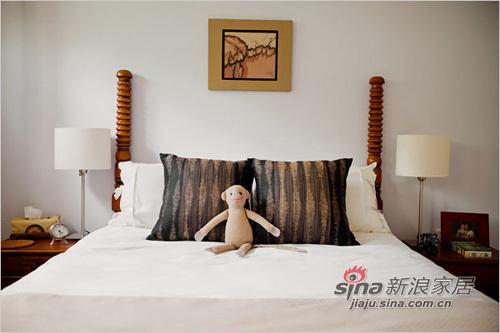 中式 二居 卧室图片来自用户1907661335在超大露台90平中式精致二居94的分享
