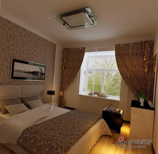 简约 一居 卧室图片来自用户2738829145在7万98平现代简约风格爱家60的分享