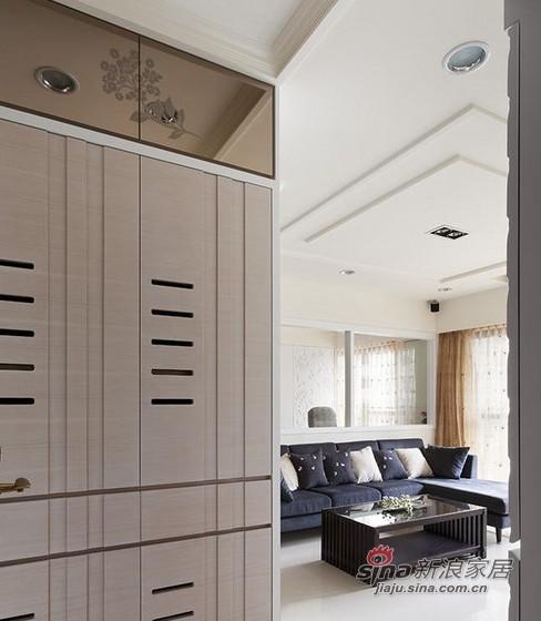 100平简洁白色舒缓空间