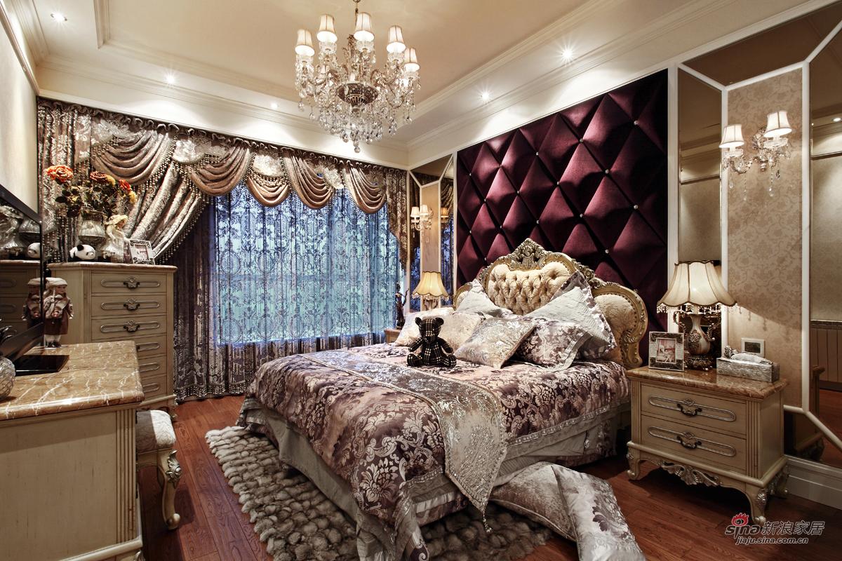 时尚女孩的奢华卧室