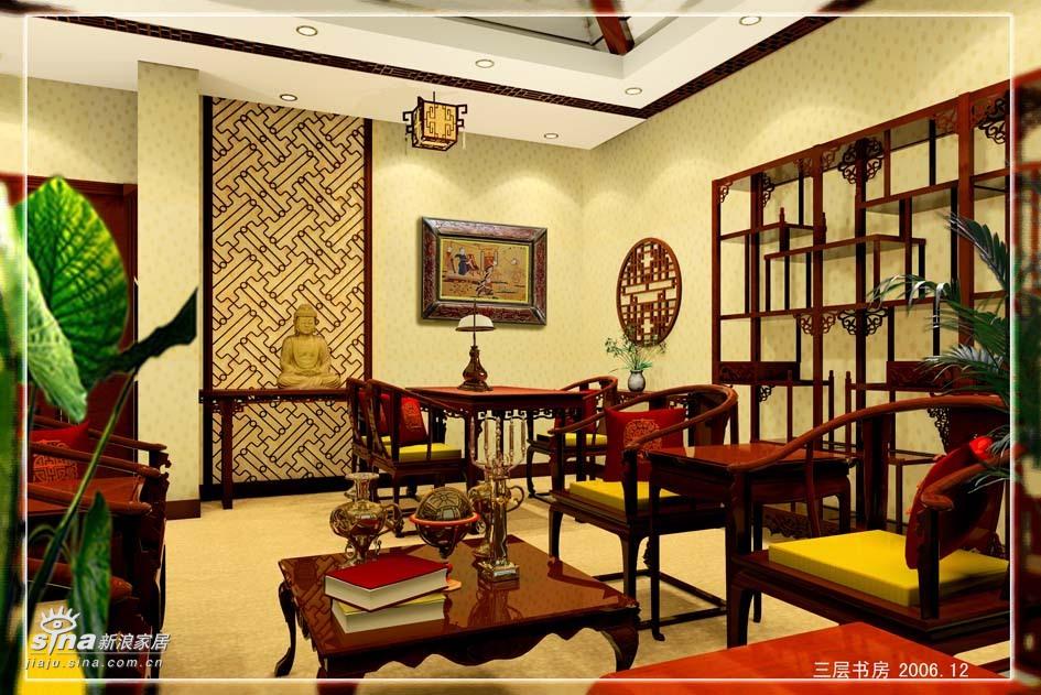 简约 别墅 书房图片来自用户2559456651在中欧混搭的低调奢华54的分享