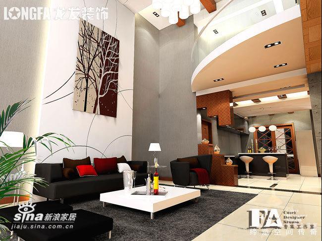 简约 复式 客厅图片来自用户2737950087在雅居装饰19的分享
