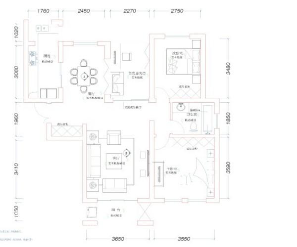中央景城施工图
