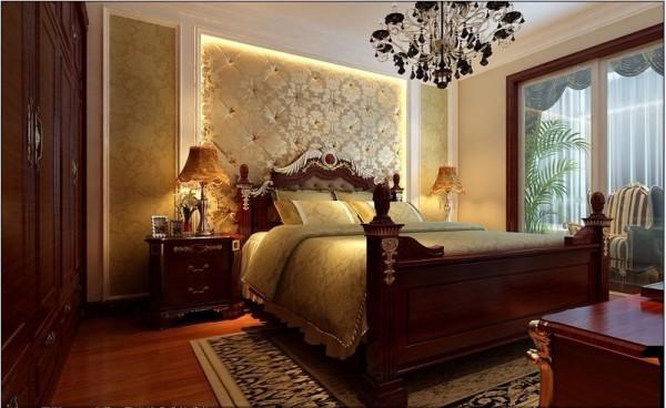 欧式 复式 卧室图片来自用户2746869241在古典欧式风格打造120平米复式59的分享