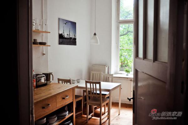德国98平实景精致单身1居公寓