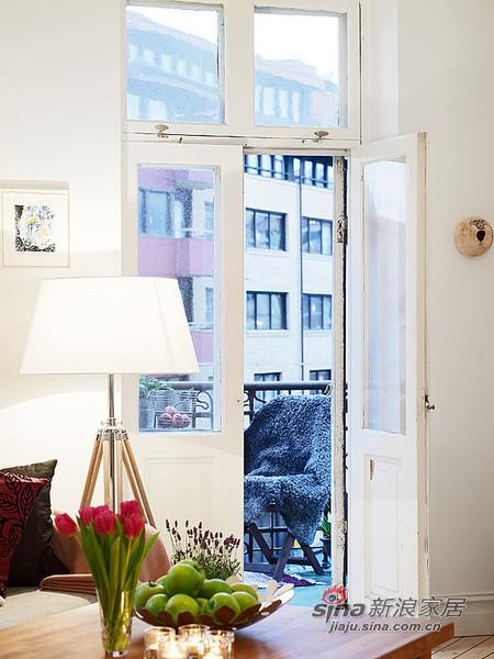 100平洁净开放式公寓