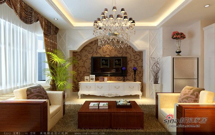 欧式 三居 客厅图片来自用户2746869241在8.7万打造贻长豪庭120平华丽3居50的分享