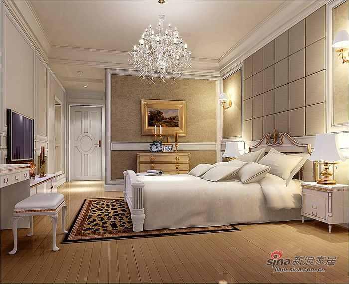 欧式 三居 卧室图片来自用户2557013183在舒适温馨的简欧风格62的分享