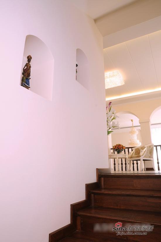 其他 别墅 楼梯图片来自用户2557963305在浪漫不失大方 自然乡村风大气别墅10的分享