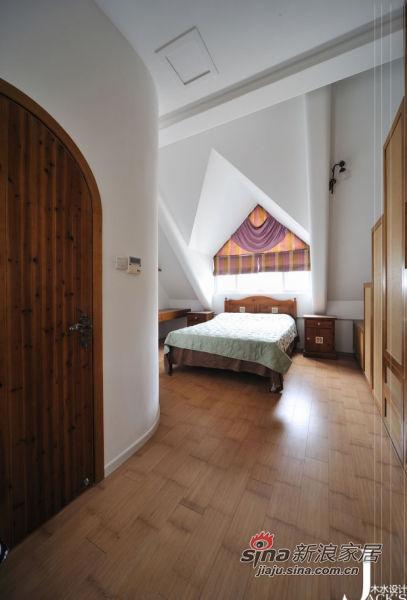 地中海 跃层 卧室图片来自佰辰生活装饰在98平米混搭东南亚风格新居27的分享