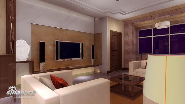 简约 三居 客厅图片来自用户2738093703在空间舒适感71的分享