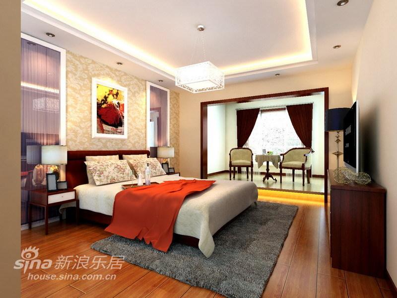 简约 三居 卧室图片来自用户2739153147在舍繁求简6万精装140平明亮、舒适的生活空间32的分享