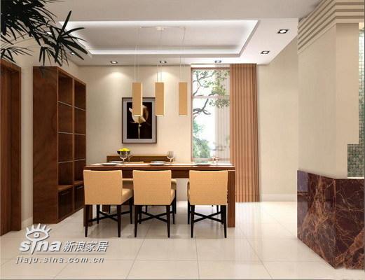 简约 别墅 餐厅图片来自用户2739081033在实创装饰华远 静林湾96的分享