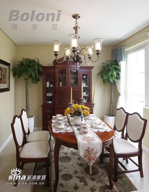 欧式 别墅 餐厅图片来自用户2746948411在天鹅堡别墅照片36的分享