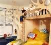 大树造型儿童床儿童房