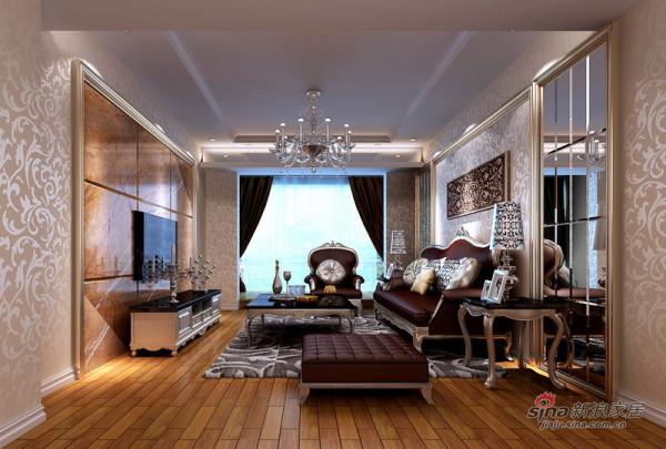 奢华欧式客厅