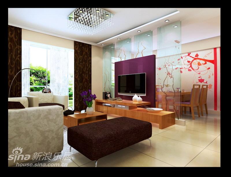简约 二居 客厅图片来自用户2739081033在简约温馨 90平时尚高雅的生活格调18的分享