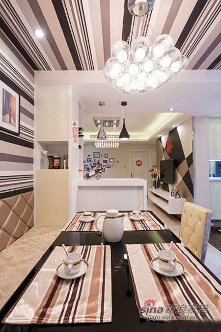 简约 三居 餐厅图片来自用户2737782783在5.2万改造85平现代简约婚房13的分享