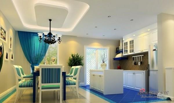 地中海 三居 厨房图片来自用户2756243717在120平老房变高雅3居仅8万71的分享