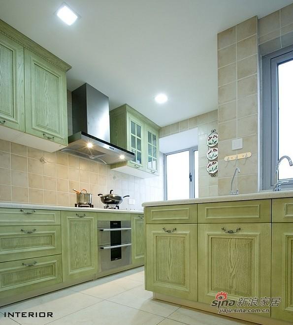 田园 三居 厨房图片来自用户2737946093在90平装3室2厅地中海温馨家20的分享