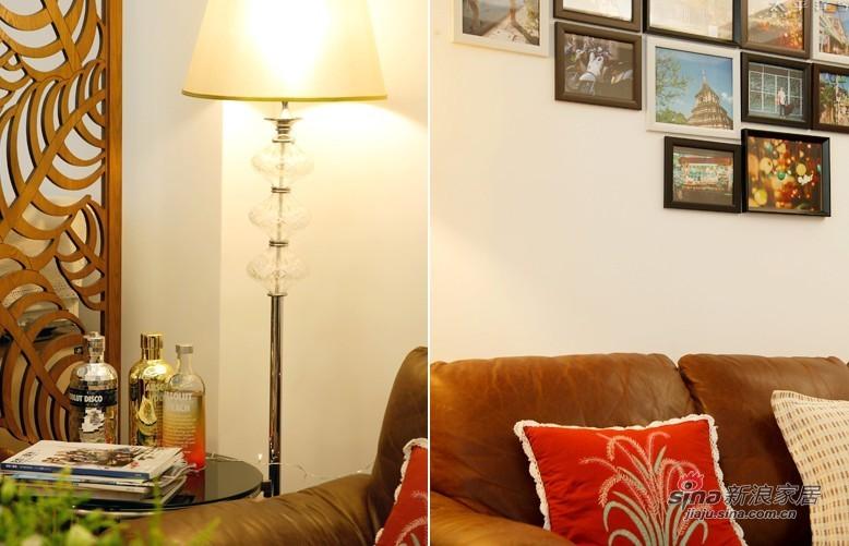 简约 二居 客厅图片来自用户2739153147在100平老广州的现代简约3居45的分享