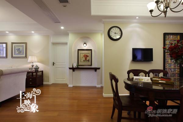 客厅与餐厅之间
