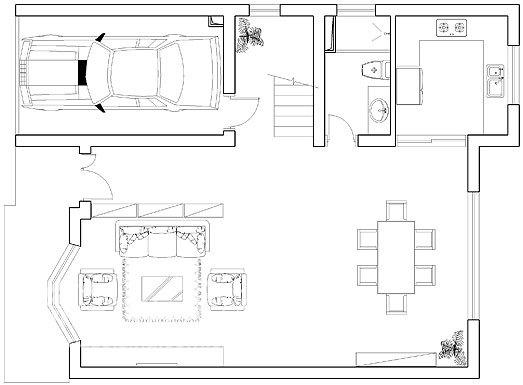 田园 别墅 客厅图片来自用户2737791853在鑫海别墅76的分享