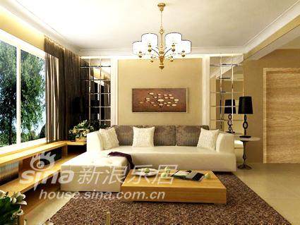 简约 三居 客厅图片来自用户2738820801在简约三居70的分享