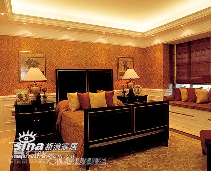 欧式 别墅 卧室图片来自用户2772873991在深圳天悦龙庭示范单位90的分享
