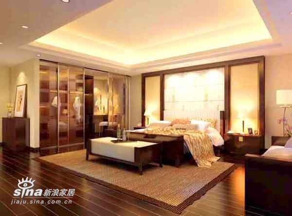 简约 别墅 卧室图片来自用户2737950087在上海别墅326的分享