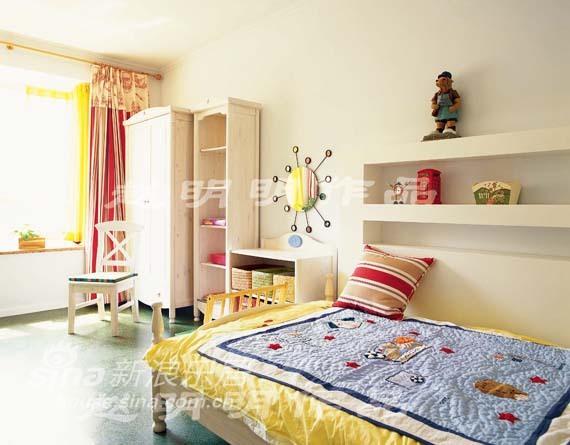 欧式 四居 儿童房图片来自用户2772856065在半岛上的风情35的分享