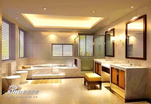 简约 别墅 卫生间图片来自用户2737950087在上海别墅326的分享