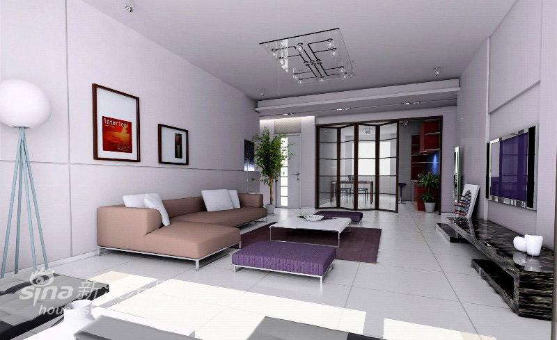 简约 二居 客厅图片来自用户2738820801在现代简约51的分享