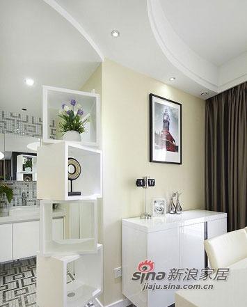 简约 三居 客厅图片来自用户2739378857在3.6万巧装100平温馨小三居15的分享