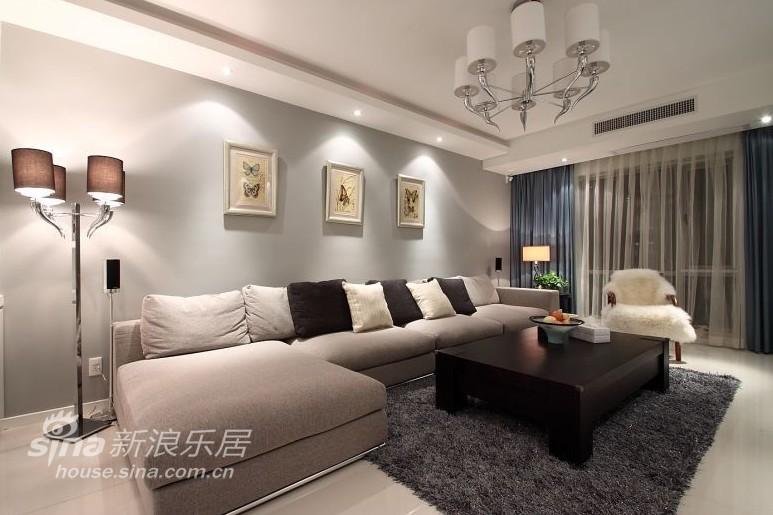 简约 三居 客厅图片来自用户2738093703在10万打造蓝灰色简约美家49的分享